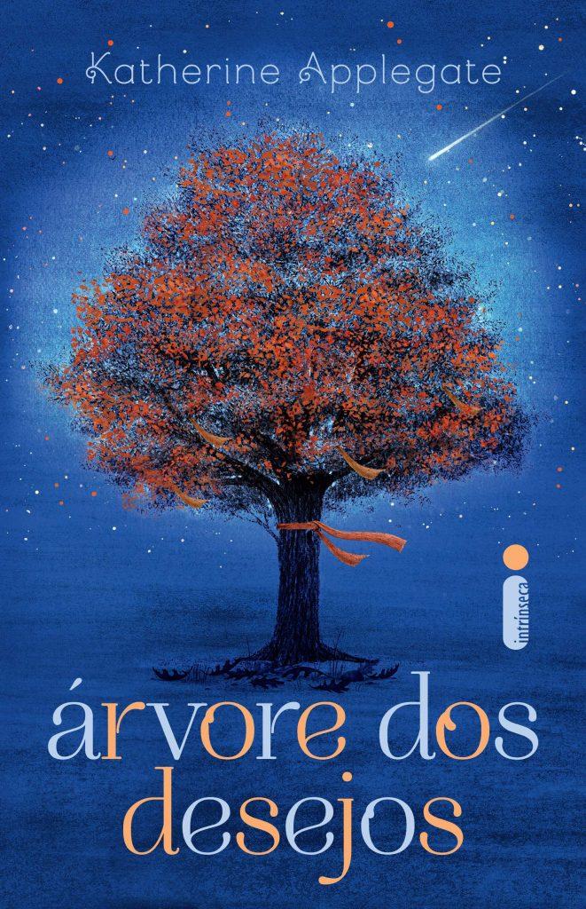 """Capa de """"Árvore dos desejos"""", um livro de Katherine Applegate."""