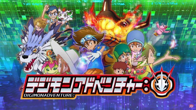 Capa Digimon Adventure 2020