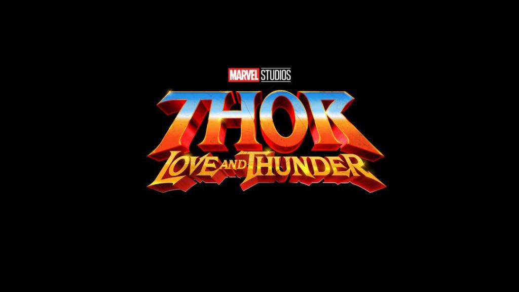 Logo de Thor: Amor e Trovão