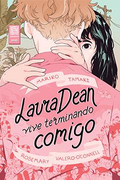 Capa da graphic novel Laura Dean Vive Terminando Comigo lançamento da Intrínseca
