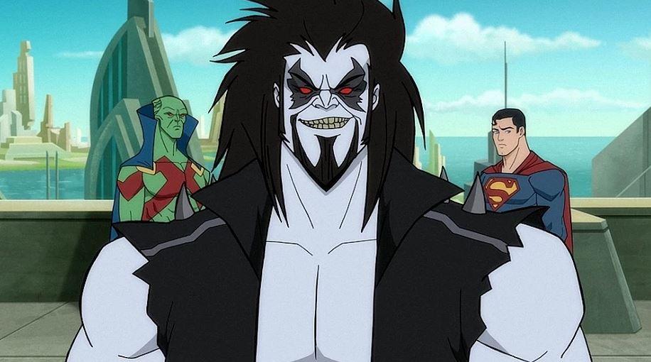 Marciano, Lobo e Superman