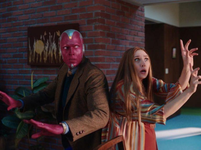 Imagem do terceiro episódio de WandaVision.
