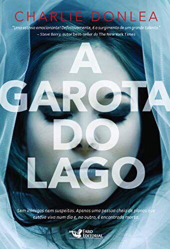 Capa do livro A garota do lago com uma menina morta