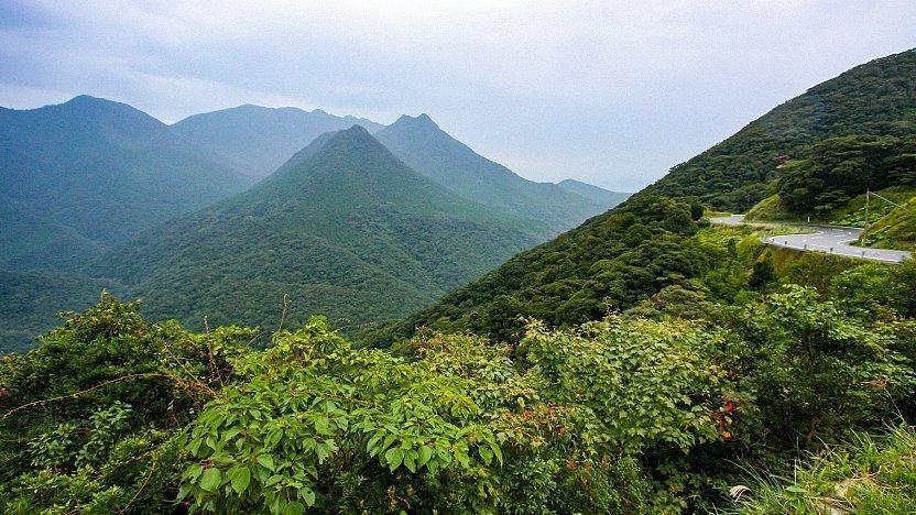 Monstanhas localizadas ao sul de Kyushu e integrada na província de Kagoshima