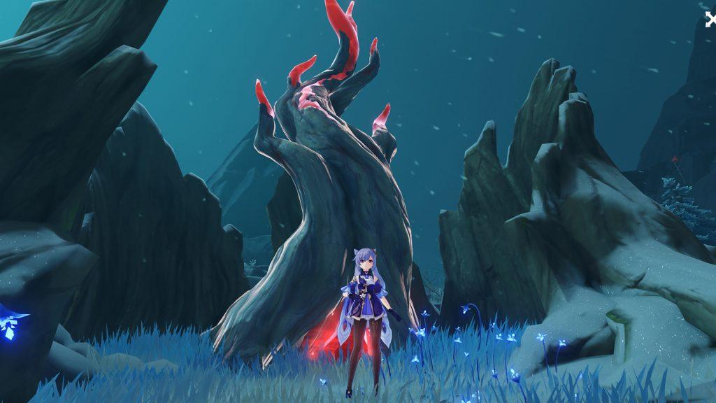 Árvore do Sabugueiro de Genshin Impact