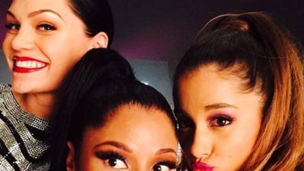 Jessie J, Ariana Grande e Nicki Minaj juntas