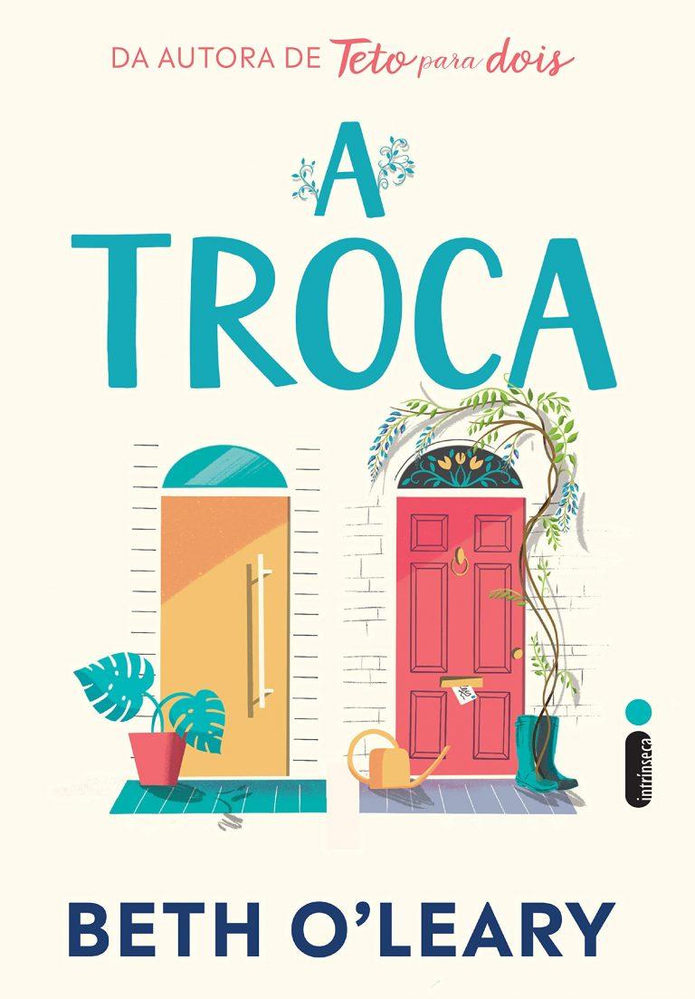 capa do livro a troca