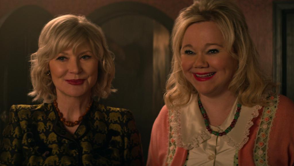 Zelda e Hilda da série original, fazendo sua participação na nova série