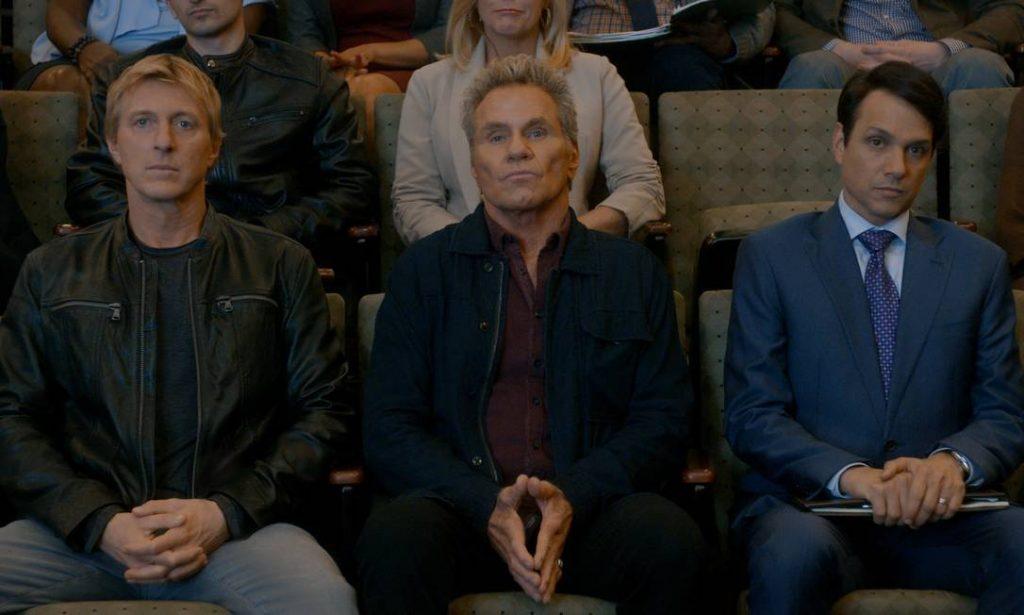 Johnny, Kreese e Daniel
