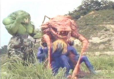Gaata & Gyodai: os Master-Blaster de Dengeki Sentai Changeman.