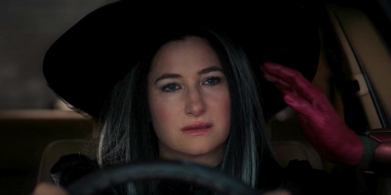 Agatha Harkness no episódio passado.