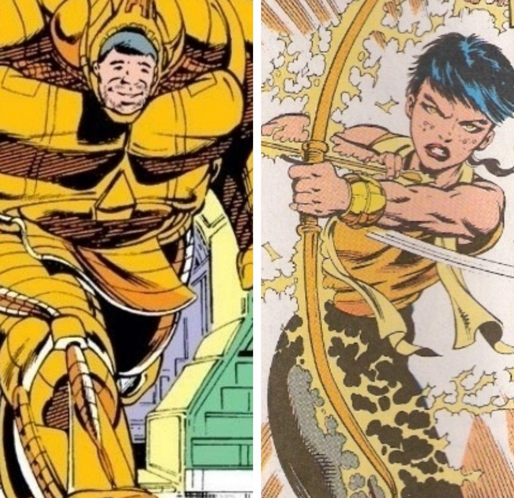 Ájax e Atalanta, os Master-Blaster desse quadrinho.