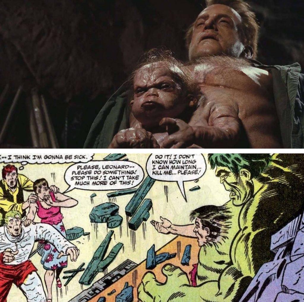 A separação entre Banner e Hulk parece ter inspirado os mutantes de Total Recall.