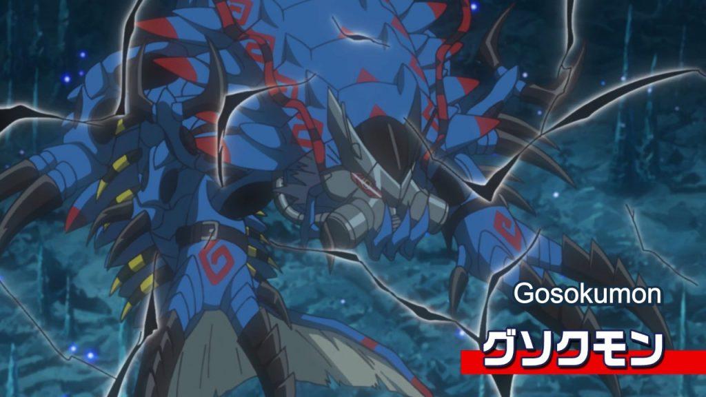 Aparição do Gosokumon no episódio Angewomon Brilha
