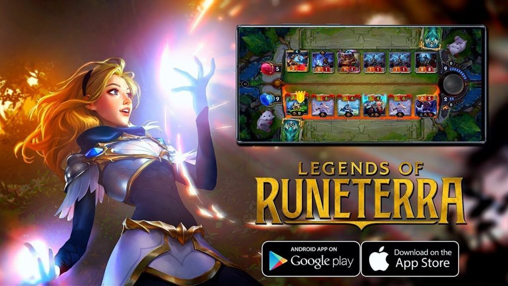 Banner do jogo Legends of Runeterra.