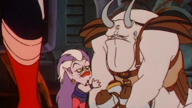 Luna e Amok: os Master-Blaster de Thundercats.