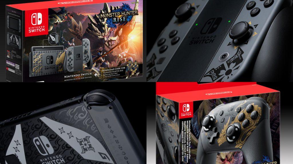 Versão exclusiva do Nintendo Switch