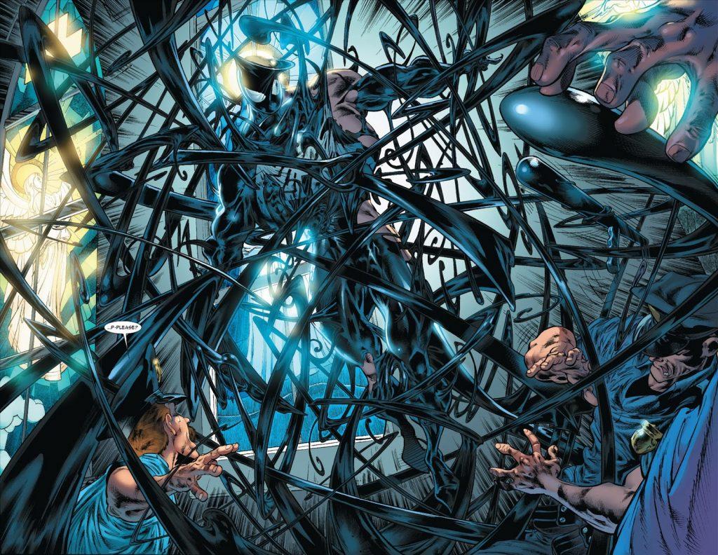 A origem de Venom em Origem Sombria (2009).