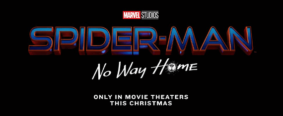 Logo do filme Homem-Aranha: No Way Home.