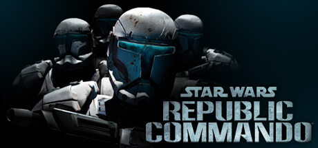 Pôster do jogo Star Wars Republic Commando.