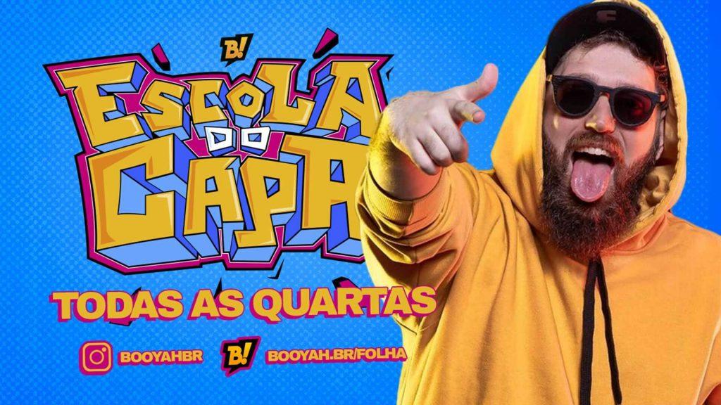Luis Felipe vai apresentar Escola do Capa
