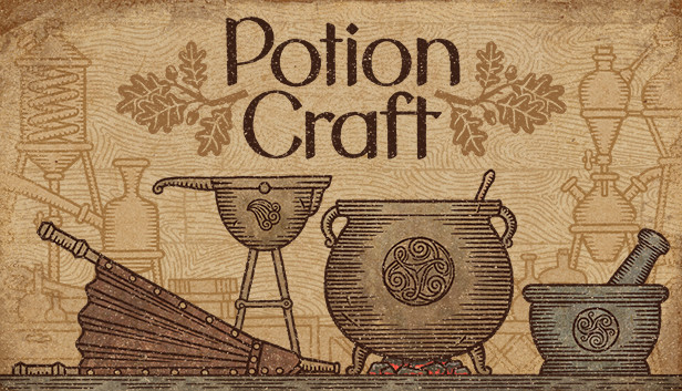 logo do jogo potion craft: alchemist simulator