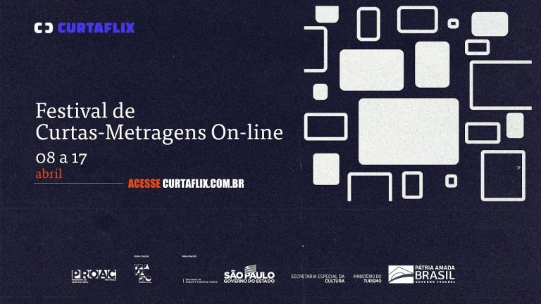 Poster do festival de curtas Curtaflix Otageek