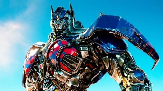Optimus Prime em imagem promocional da franquia Transformers