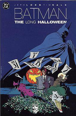 Capa do quadrinho Batman: The Long Halloween. Otageek. Créditos: DC COMICS