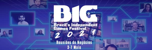 Logo do Big Festival de 2021. Reprodução:: TheoGames
