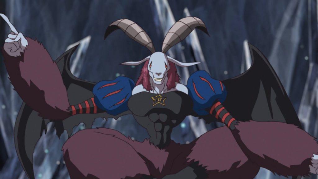 Mephismon em Digimon Adventure: - Reprodução Crunchyroll