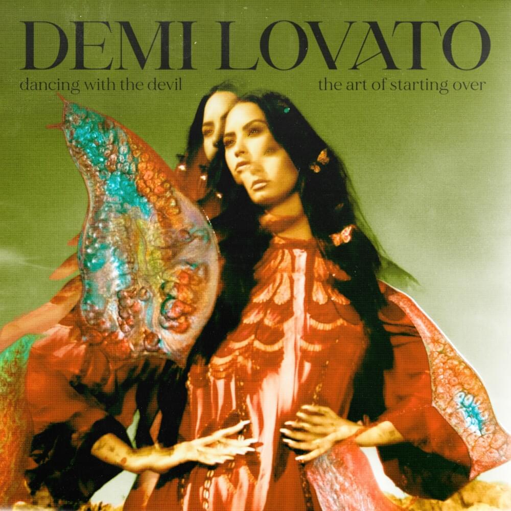 Capa do álbum Dancing with the Devil... the Art of Starting Over de Demi Lovato.