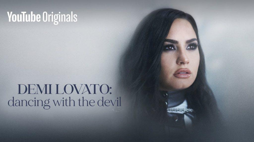 Capa do documentário da Demi Lovato do Youtube.